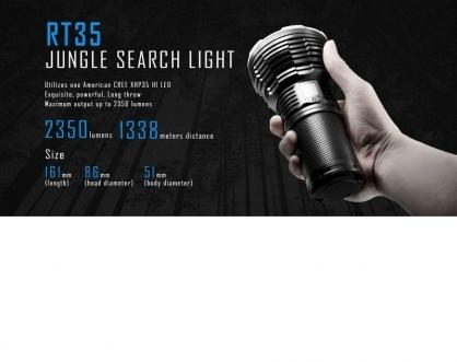 【錸特光電】IMALENT RT35 2350流明 1338米射程 高亮遠射手電筒 探照燈 磁吸充電 XHP35 HI