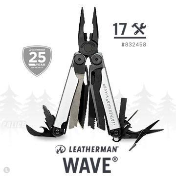 【錸特光電】LEATHERMAN WAVE 黑銀限定款 (公司貨) #832458 保固25年 全球限量款