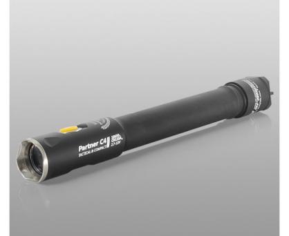 【錸特光電】Armytek Partner C4 Pro 2300流明 軍規 戰術手電筒 215米 IP68 XHP35 尾按 加拿大品牌 保固10年 18650x2