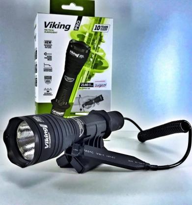 【錸特光電】Armytek Viking Pro XHP50 2300流明  射程286m 軍規級 戰術手電筒 泛光 搜救 打獵用 濾鏡39mm 老鼠尾 線控 生存遊戲 射擊  18650
