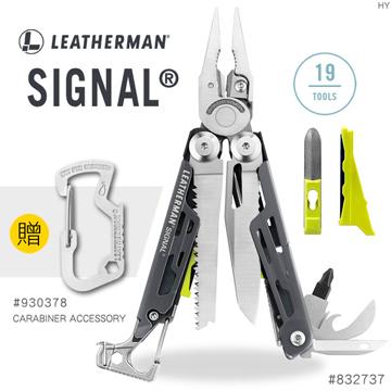 【錸特光電】Leatherman SIGNAL 灰/黃色 (送扣環 #930378) 工具鉗 野外求生配備 #832737
