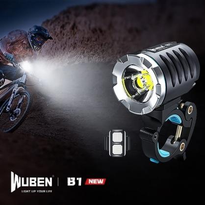 WUBEN B1 最亮 專業 | 越野賽 | 自行車燈 | 專為車手 長途訓練設計