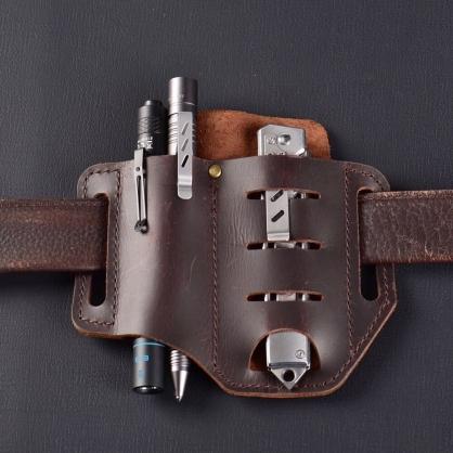WUBEN HG6BR 質感皮革 工具皮套 | 瘋馬皮 | 男人的配件
