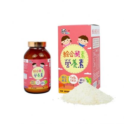 (買一送一優惠組) Panda baby 鑫耀生技 綜合酵素營養粉 (下單可任選不同口味混搭,記得在備註留言哦!)