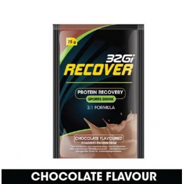32Gi 蛋白運動能量飲 75克 (巧克力口味)