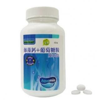 素天堂 VEGLIGHT 素食複方海藻鈣(葡萄糖胺)60錠