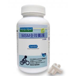 【2003146】MSM葡萄糖胺全效養護膠囊 (素天堂 VEGLIGHT)