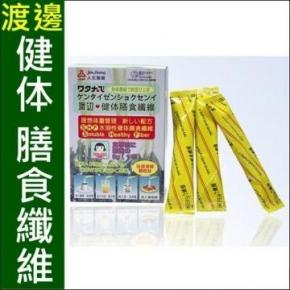 人生製藥 渡邊健體膳食纖維(6gX21包)