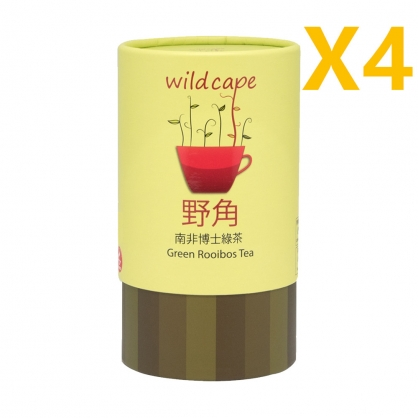 四罐特價組-Wild Cape Green Rooibos野角南非博士茶(綠茶)