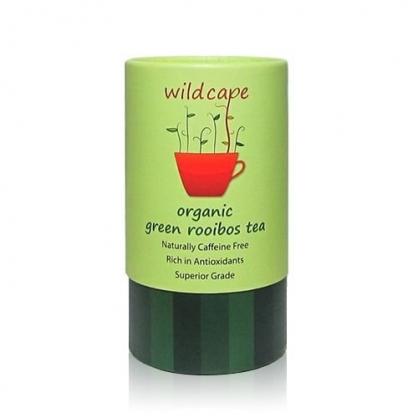 南非國寶茶Wild Cape Green Rooibos 野角南非博士(綠茶) 【40茶包/罐】無咖啡因、孕婦哺乳可用