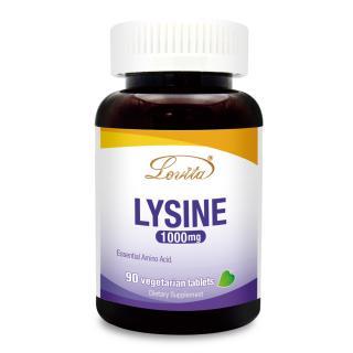 Lovita 愛維他-離胺酸LYSINE食品錠1000mg-全素