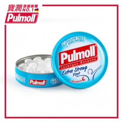 德國 Pulmoll 寶潤喉糖 ~超涼薄荷+維他命C 45g(無糖)