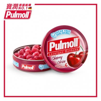 德國 Pulmoll 寶潤喉糖 ~櫻桃薄荷45g(無糖)