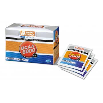 康馨三鐵館-諾壯 BCAA 8000mg 沖泡式胺基酸(20包/盒)