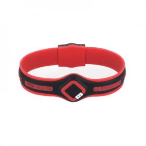 克郎托天Colantotte TRION:Z MAXILOOP磁石手環~紅/M(16~18cm)