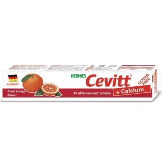 【2004079】 (愛美仕)維生素C+鈣 發泡錠 (20錠) **血橙口味