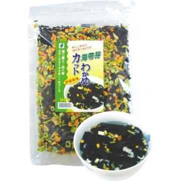 康馨-【興嘉實業】海帶芽野菜120g~內含海帶芽, 高麗菜,香菇,胡蘿蔔,四季豆