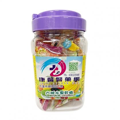 康馨 OEM 新包裝 維他命水果軟糖 100g (手提) (六鵬)【2001894】
