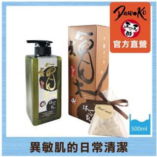 木酢達人-天然黃金水檜木沐浴乳500ml-全身可用 new