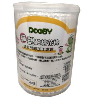 Dooby 大眼蛙 紙軸棉花棒(細) 180入