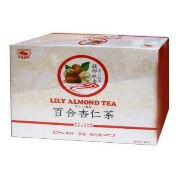 樂家實業 百合杏仁茶(25gX24包/盒裝)無添加糖)