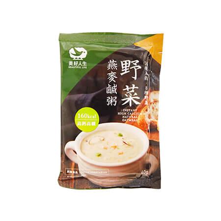 買一送一2盒特價組-【heliga美好人生】高鈣野菜燕麥鹹粥