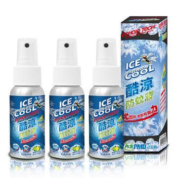 ECHAIN TECH 熊掌防蚊液 -酷涼型 (PMD配方) X3瓶組