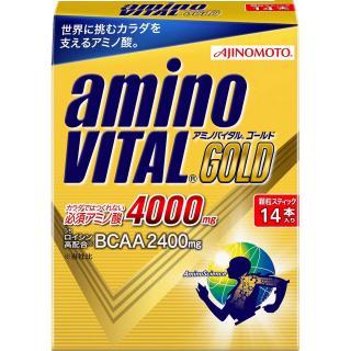 【日本味之素 原裝進口】amino VITAL黃金級胺基酸粉末 14包入
