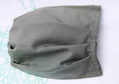 【2004103】口罩布套(灰色) 側面可放醫用口罩 台灣手工製作 防塵口罩 防護口罩