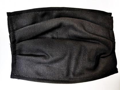 【2004123】口罩布套(黑色)1入 側面可放醫用口罩 台灣手工製作 防塵口罩 防護口罩