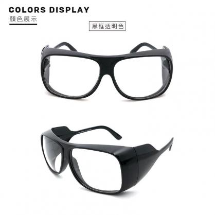 【2004154】MIT大框護目鏡( 黑框透明色)抗UV400 防風砂/防曬/包覆性優/標準局檢驗合格