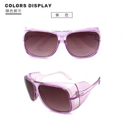 【2004152】MIT大框護目鏡(紫色)抗UV400 防風砂/防曬/包覆性優/標準局檢驗合格