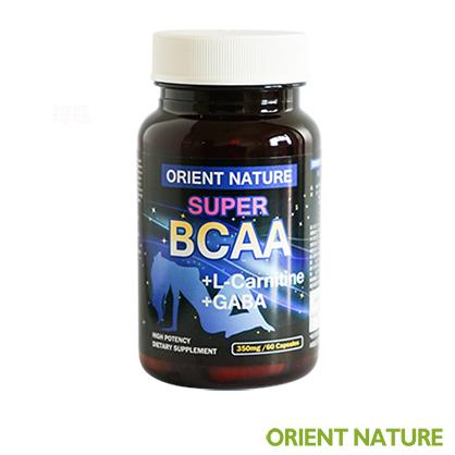 《歐瑞納美》懶人美體|BCAA夜間胺基酸膠囊(60顆/瓶)-BCAA支鏈胺基酸+L-肉酸+GABA