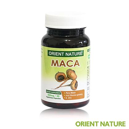 《歐瑞納美》馬卡哥膠囊(30顆/瓶)│回購率高 瑪卡 MACA 祕魯瑪卡、鋅、全素可食
