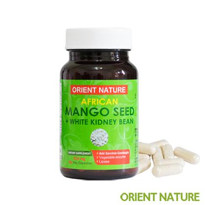 《歐瑞納美》非洲芒果籽+專利白腎豆膠囊│全素可食