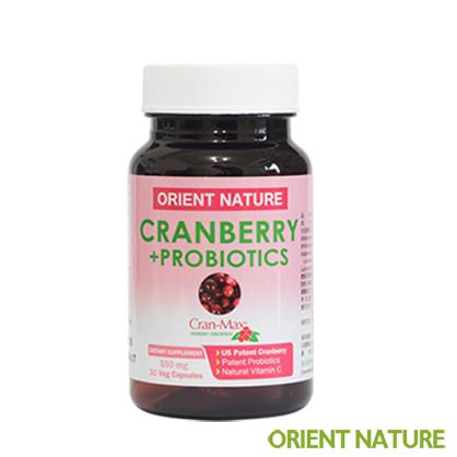 《歐瑞納美》 專利蔓越莓+專利益生箘+天然維他命C膠囊