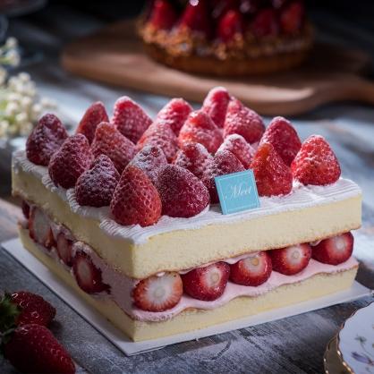 草莓多多蛋糕(方型)