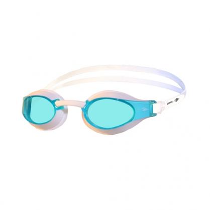 競賽型室內泳鏡亮藍 RACING GOGGLES Basic Bright blue