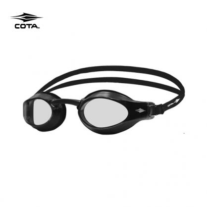 【泳者讓泳速升級的配備】極簡黑RACING GOGGLES Basic clear-Black