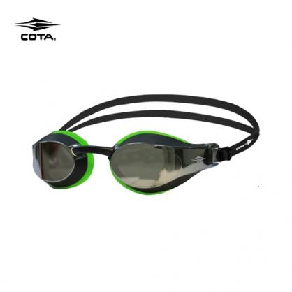 競速泳鏡 鍍銀綠