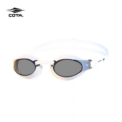 專業款泳鏡極簡黑 RACING GOGGLES Basic clear-White