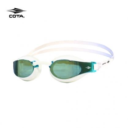競速泳鏡 RACING FASTER Advanced 鍍銀白/綠