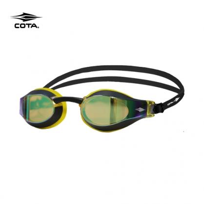 競賽泳鏡-高階型 RACING FASTER High-end 鍍銀黃