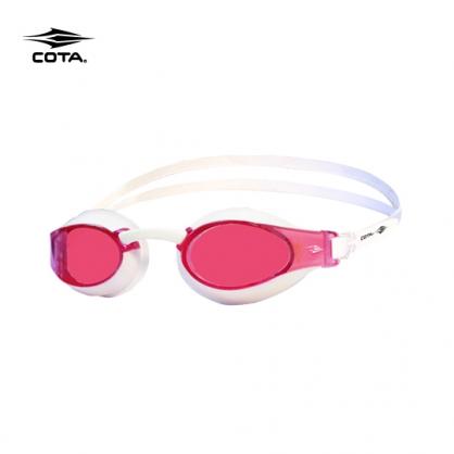 競賽泳鏡-高階型 RACING FASTER High-end 鍍銀粉紅