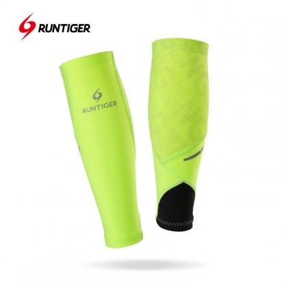 壓縮腿套-熒光綠(反光)款式