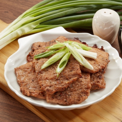 臻馨頂級黑胡椒烤肉片