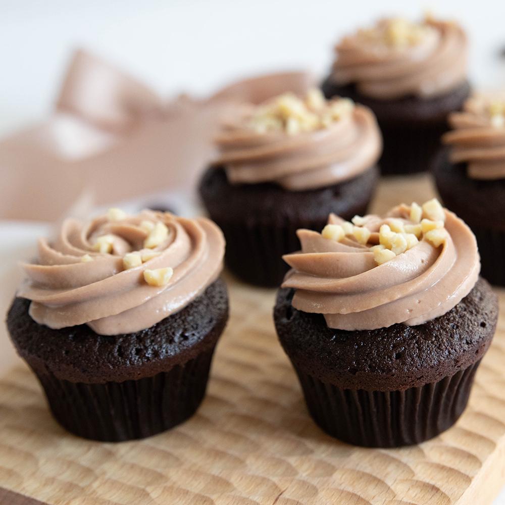 巧克力迷你杯子蛋糕