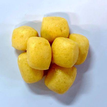 MINI寶寶饅頭-金熾熾(南瓜乳酪)-奶素 /天然酵母/無添加/不脹氣/不胃酸