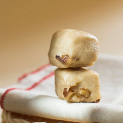 MINI寶寶饅頭-桂的好(桂圓核桃)-純素 /天然酵母/無添加/不脹氣/不胃酸