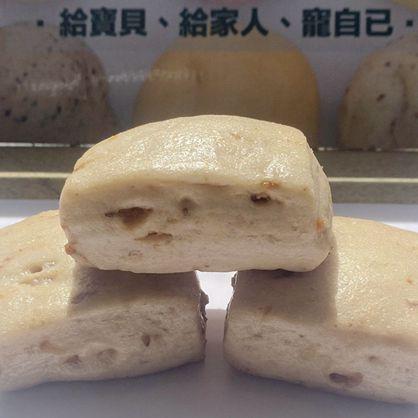 方饅頭-桂的好(桂圓核桃)-素 /天然酵母/無添加/不脹氣/不胃酸